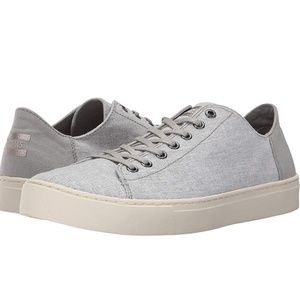 B2G1 NWT Toms Lenox Drizzle Gray Canvas Sneakers